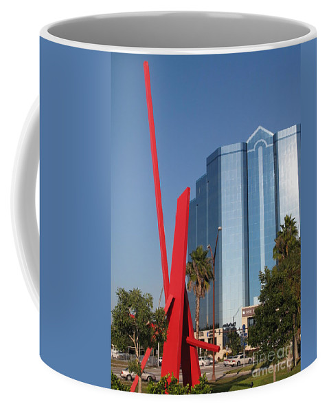 Art Coffee Mug featuring the photograph Art 2008 At Sarasota Waterfront II by Christiane Schulze Art And Photography