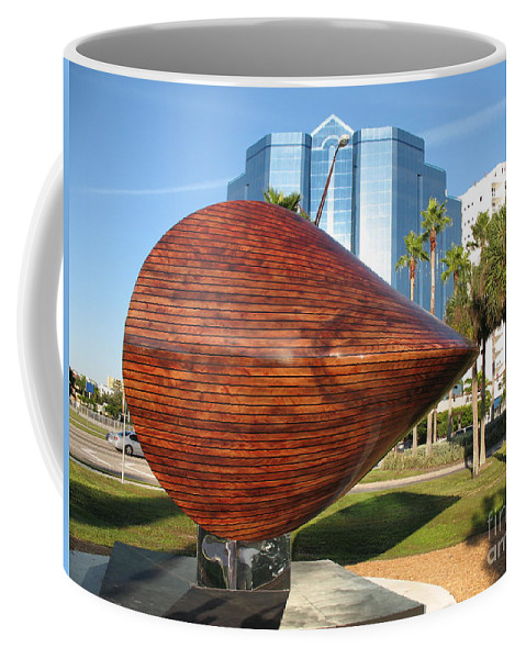 Art Coffee Mug featuring the photograph Art 2009 At Sarasota Waterfront by Christiane Schulze Art And Photography