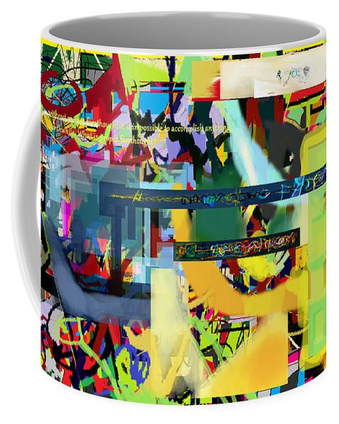 Torah Coffee Mug featuring the digital art Chidush B'daas 10c by David Baruch Wolk