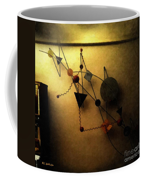 Art Coffee Mug featuring the painting Art Imitates Life by RC DeWinter