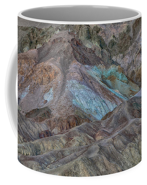 Artist's Pallet Coffee Mug featuring the photograph Artists Pallet Death Valley Ca Img 0448 by Greg Kluempers