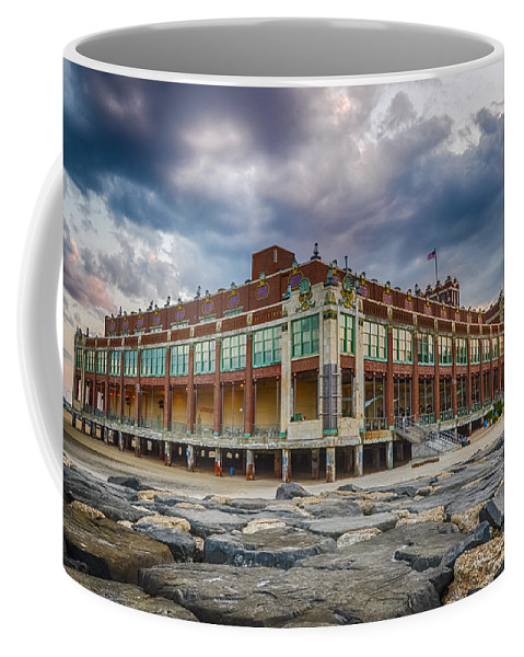 New Jersey Coffee Mug featuring the photograph Asbury Park by Kristopher Schoenleber