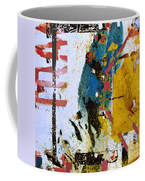 Ascent Coffee Mug featuring the mixed media Ascent by Dominic Piperata