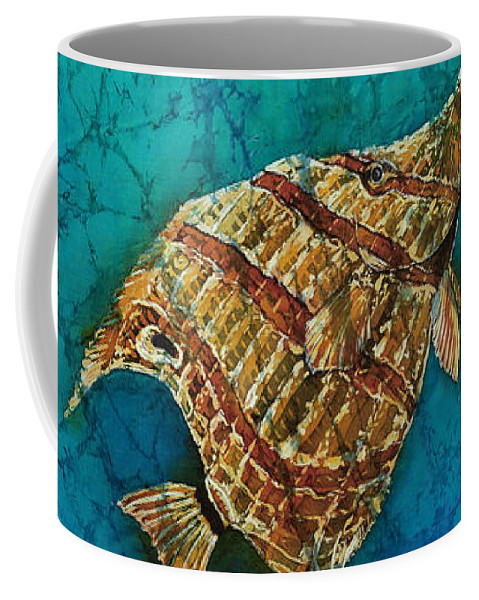 Ocean Coffee Mug featuring the painting Ascent by Sue Duda