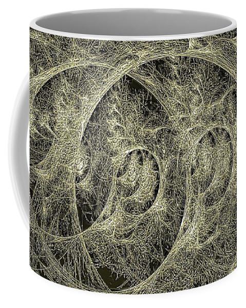 Growth Coffee Mug featuring the digital art Aspergilloma by Doug Morgan