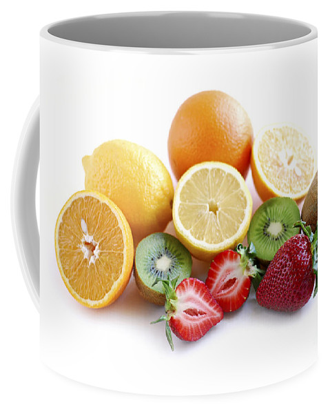 Fruit Coffee Mug featuring the photograph Assorted Fruit by Elena Elisseeva