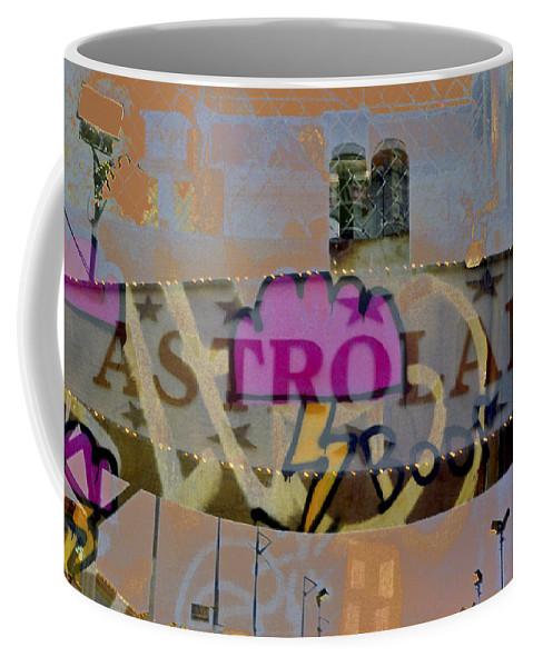 Coney Island Coffee Mug featuring the photograph Astroland by Rosie McCobb