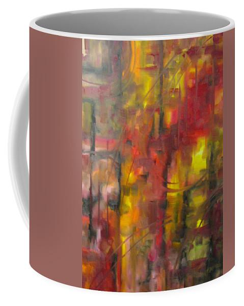 Asylum Coffee Mug featuring the painting Asylum by Lord Frederick Lyle Morris
