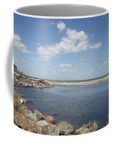Bay Coffee Mug featuring the photograph At The Bay by Christiane Schulze Art And Photography