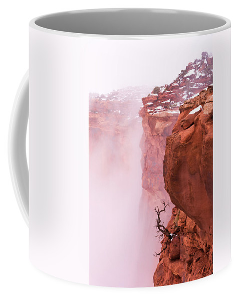 Canyonlands Coffee Mug featuring the photograph Atop Canyonlands by Chad Dutson