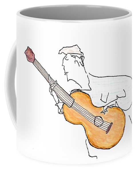 Jim Taylor Coffee Mug featuring the painting Attention To Detail by Jim Taylor