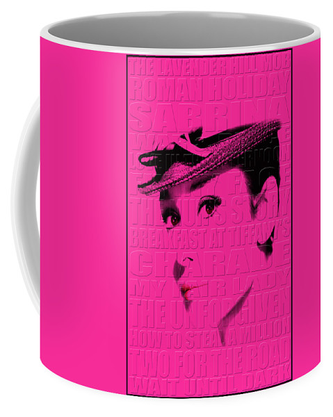 Hepburn Coffee Mug featuring the photograph Audrey Hepburn 4 by Andrew Fare