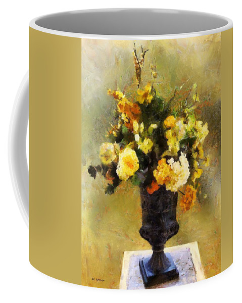 Flowers Coffee Mug featuring the painting Autumn Antiqua by RC DeWinter