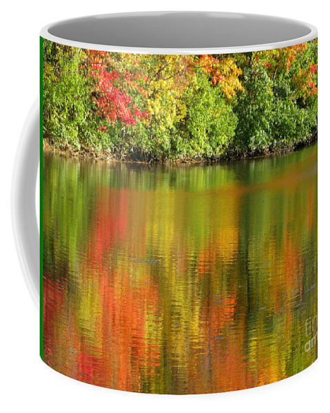 Autumn Coffee Mug featuring the photograph Autumn Brilliance by Ann Horn