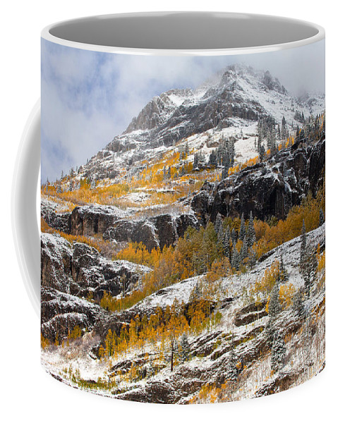 Autumn Coffee Mug featuring the photograph Autumn Clearning by Darren White