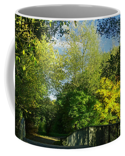 Nature Coffee Mug featuring the photograph Autumn Colors 4 by Rudi Prott