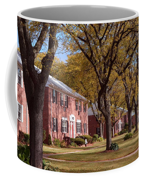 Happy Thanksgiving Coffee Mug featuring the photograph Autumn Days by Sonali Gangane