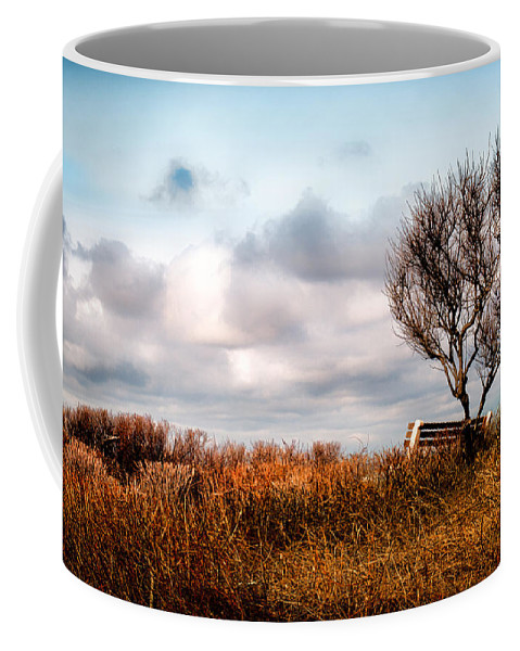Seasons Coffee Mug featuring the photograph Autumn In Maine by Bob Orsillo