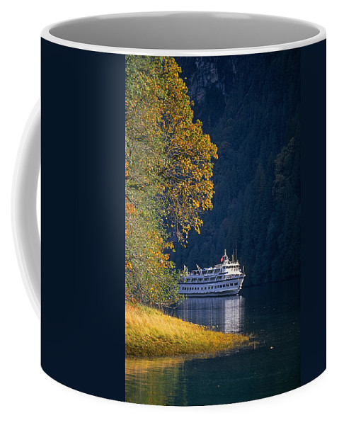 Landscape Coffee Mug featuring the photograph Autumn In Princess Louisa Inlet by Buddy Mays