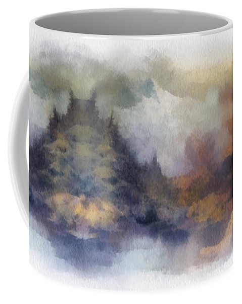 Autumn Coffee Mug featuring the photograph Autumn In The Usa Photo Art by Thomas Woolworth
