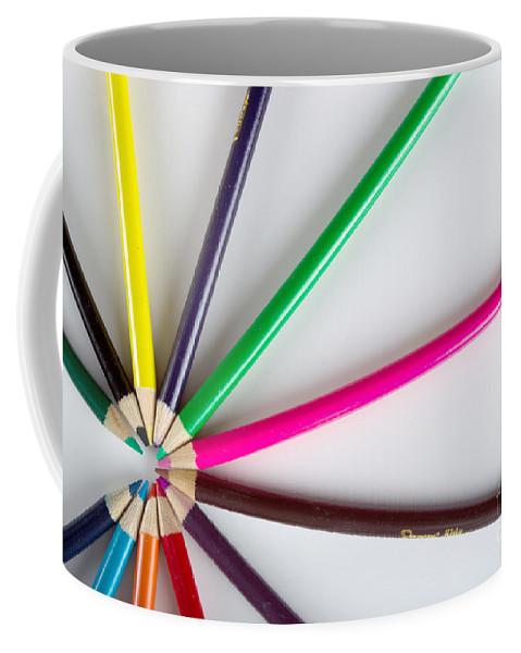 Art Coffee Mug featuring the photograph Autumn Sun by Alan Look