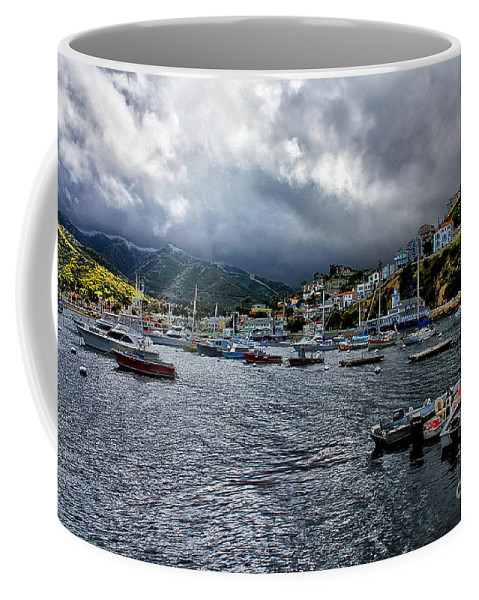Avalon Coffee Mug featuring the photograph Avalon Harbor by Stefan H Unger