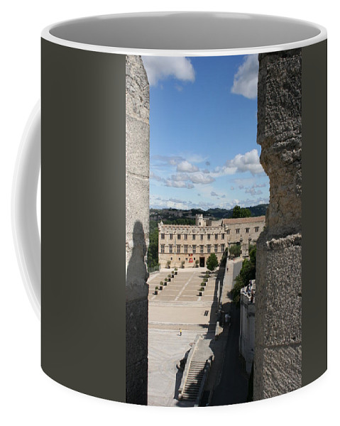 City Coffee Mug featuring the photograph Avigon View by Christiane Schulze Art And Photography