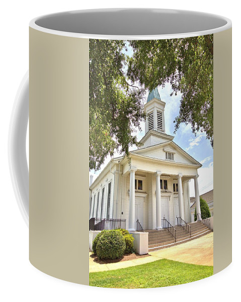 6311 Coffee Mug featuring the photograph Awaiting The Congregation by Gordon Elwell