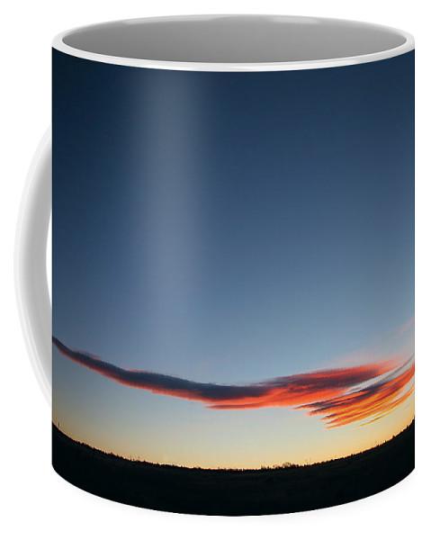 Sunrise Coffee Mug featuring the photograph Awaiting The Sun by Robert Woodward