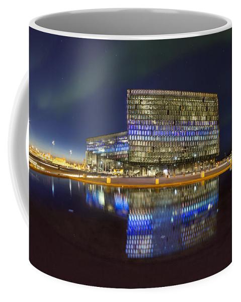 Harpa Coffee Mug featuring the photograph Awaken The Dream by Evelina Kremsdorf