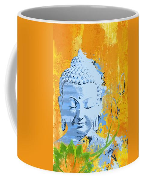 Awakened One Coffee Mug featuring the painting Awakened One by Ryan Burton