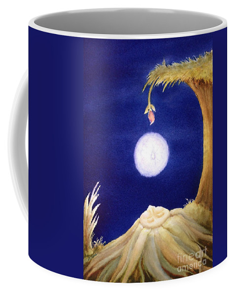 Earth Spirit Coffee Mug featuring the painting Awakening by Kym Stine