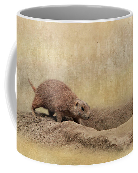 Animal Coffee Mug featuring the photograph Away Quickly by Heike Hultsch
