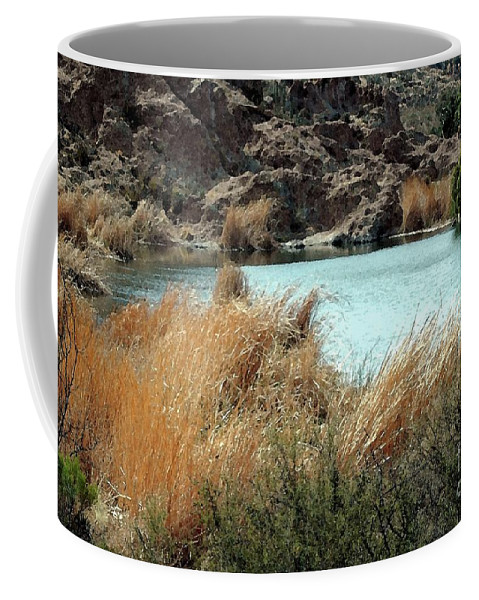 Ayer Coffee Mug featuring the photograph Ayer Lake by Kathleen Struckle