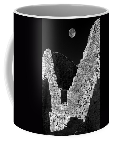 New Coffee Mug featuring the photograph Aztec Moon by Jerry McElroy