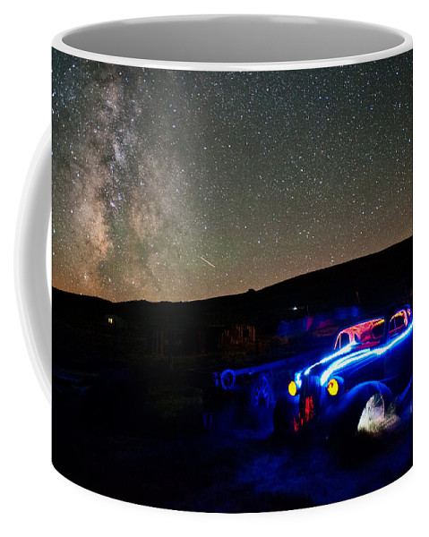 Night Coffee Mug featuring the photograph Back To Life by Cat Connor