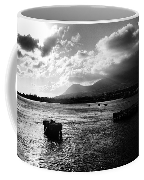 Landscape Coffee Mug featuring the photograph Back To Sea by Paul Watkins