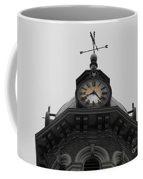 Clock Coffee Mug featuring the photograph Back To The Future by Michael Krek