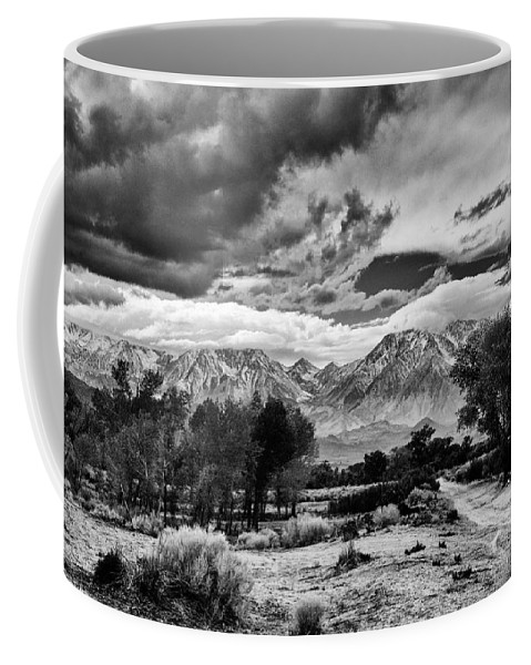Mountains Coffee Mug featuring the photograph Backroads Of Bishop by Cat Connor