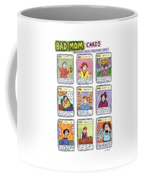 Bad Mom Cards Collect The Whole Set Coffee Mug