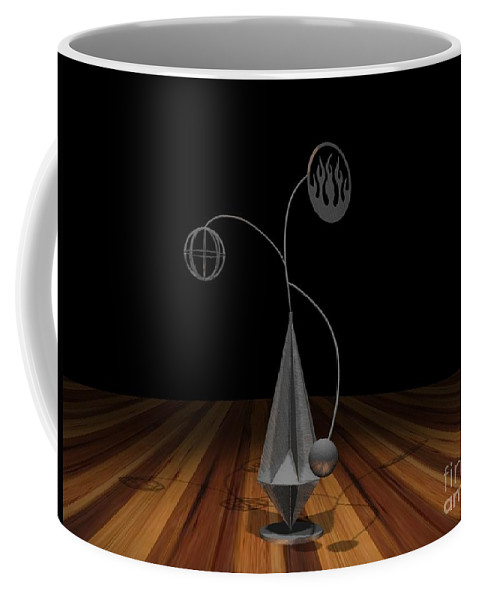 Concept Coffee Mug featuring the photograph Balancing Flame V2 by Peter Piatt