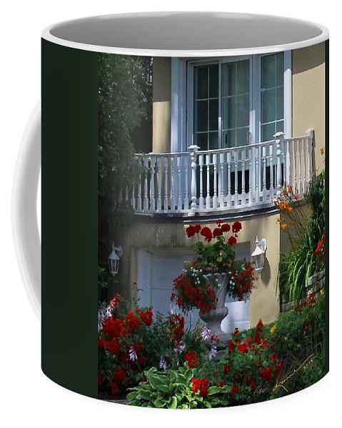 Patios Coffee Mug featuring the photograph Balcony 3 by Kume Bryant
