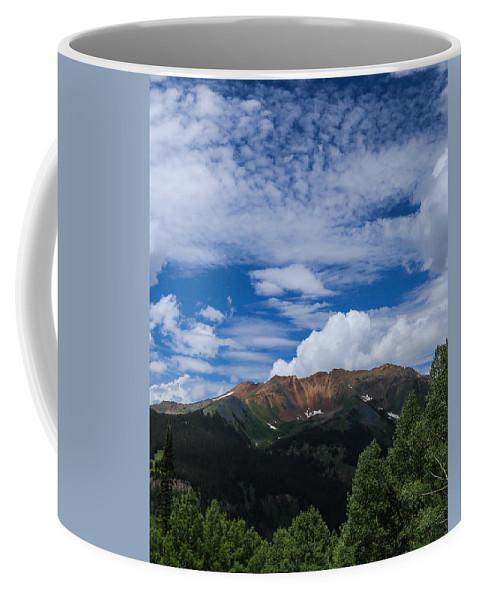 Baldy Coffee Mug featuring the photograph Baldy Mtn Summer by Kevin Buffington