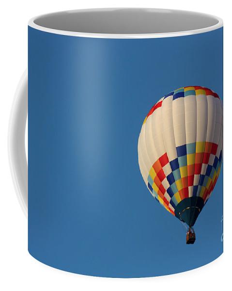 Hot Air Balloon Coffee Mug featuring the photograph Balloon-6954 by Gary Gingrich Galleries
