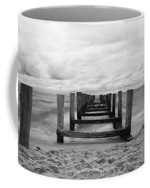 Ostsee Coffee Mug featuring the pyrography Baltic Sea by Steffen Gierok