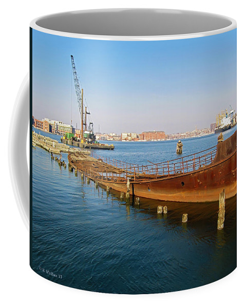 2d Coffee Mug featuring the photograph Baltimore Museum Of Industry by Brian Wallace