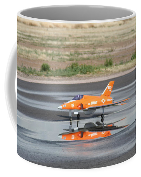Airplane Coffee Mug featuring the photograph Bandit Squared by David S Reynolds