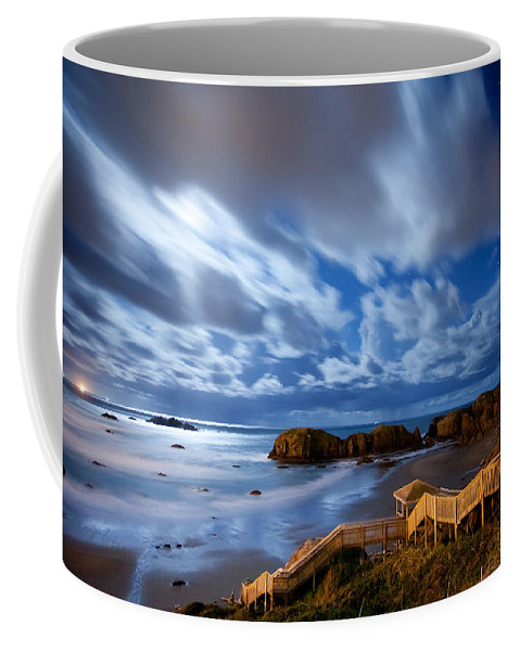 Bandon Coffee Mug featuring the photograph Bandon Nightlife by Darren White