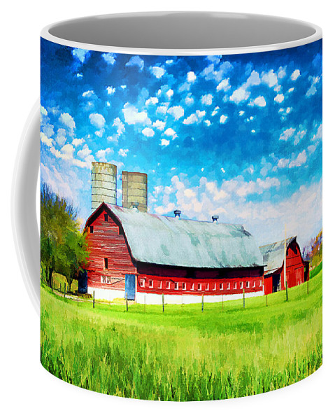 Agricultural Coffee Mug featuring the photograph Bardstown Kentucky by Darren Fisher