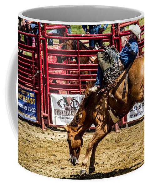 Animals Coffee Mug featuring the photograph Bareback Riding by Eleanor Abramson